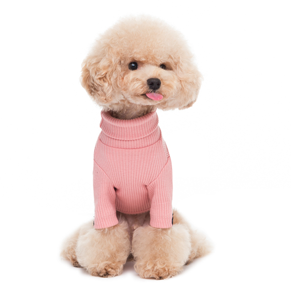 turtleneck - pink