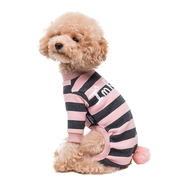'i am rabbit' stripe - pink